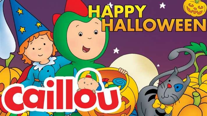 Caillou - Happy Halloween! | Cartoon for Kids | GOB TV
